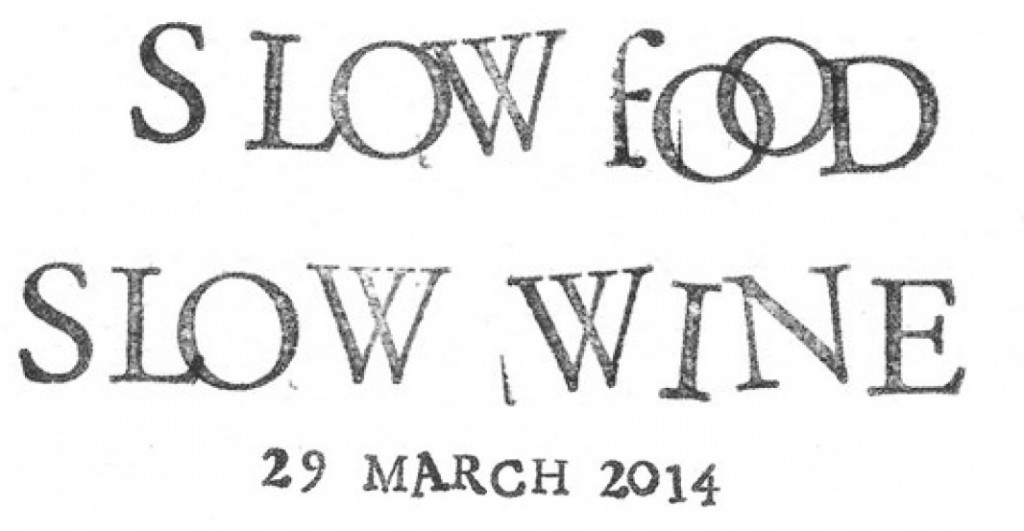 Slow Food Slow Wine